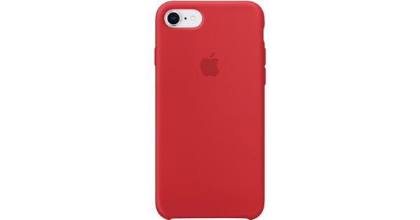 Apple iPhone 7/8 Silicone Back Cover (PRODUCT)RED