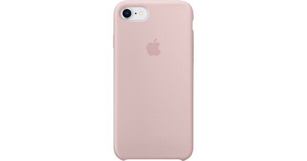Apple iPhone 7/8 Silicone Back Cover Pink Sand