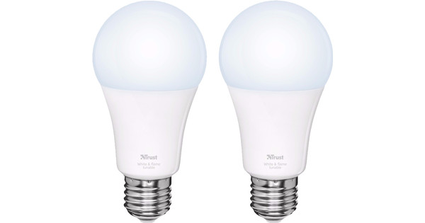 Trust Smart Home White Ambiance E27 Duopack