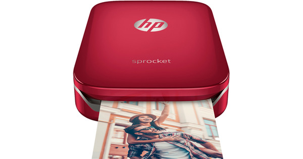 HP Sprocket Z3Z93A Rood