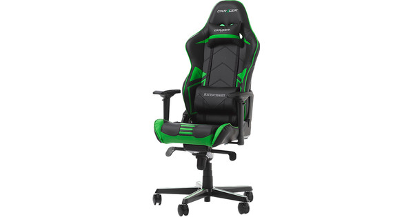 DXRacer RACING PRO Gaming Chair Zwart/Groen