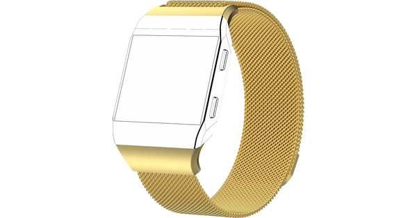 Just in Case Fitbit Ionic Milan Watch Strap Gold L