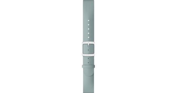 Withings 18mm Siliconen Horlogeband Lichtblauw