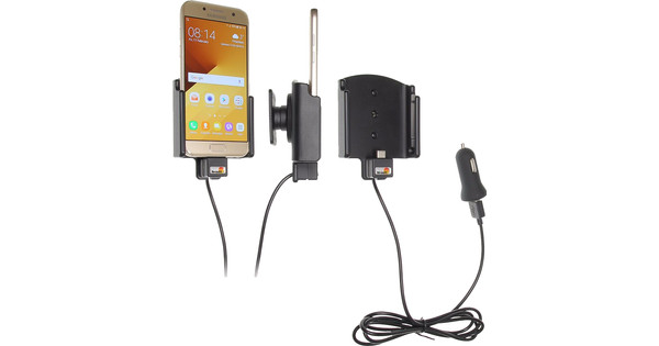 Brodit Holder Samsung Galaxy A3 (2017) with charger