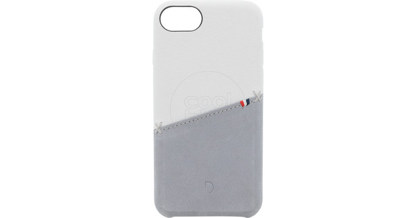Decoded Apple iPhone SE 2/8/7/6/6s Back Cover Leather White
