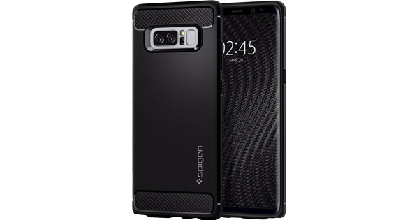 Spigen Rugged Armor Samsung Galaxy Note 8 Back Cover Black