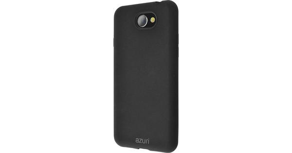 Azuri Flexible Sand General Mobile GM6 Back Cover Zwart