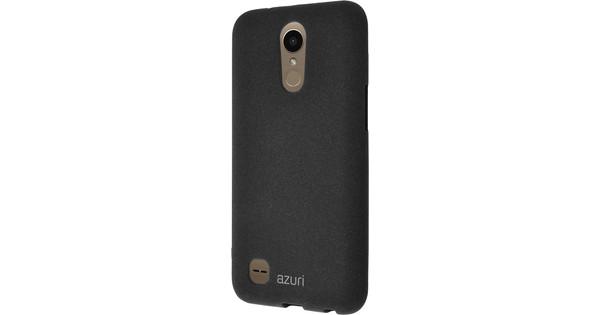 Azuri Flexible Sand LG K10 (2017) Back Cover Zwart