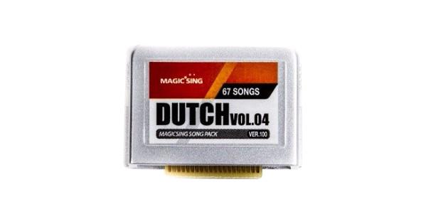 Magic Sing Dutch Vol. 4 Songchip