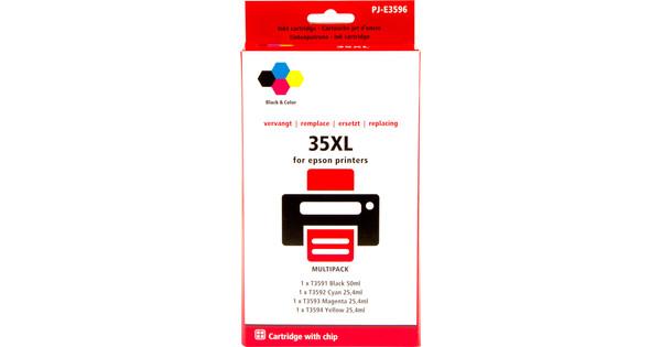 Pixeljet 35XL 4-Color Pack for Epson (C13T35864010)