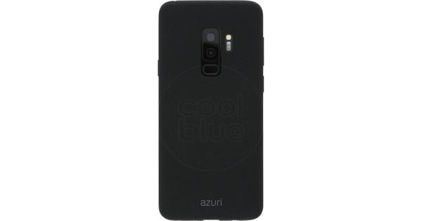Azuri Flexible Sand Samsung Galaxy S9 Plus Back Cover Black