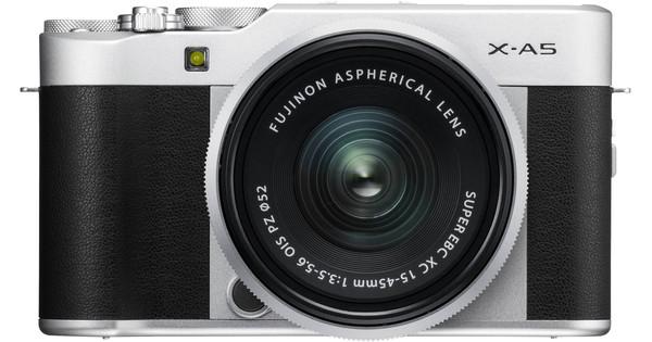 Fujifilm X-A5 Zilver + 15-45mm f/3.5-5.6 OIS PZ