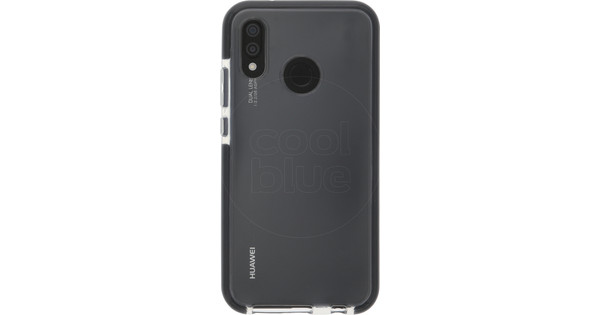 Azuri Flexible Bumper Huawei P20 Lite Back Cover Black
