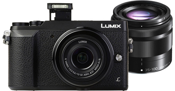 Panasonic Lumix DMC-GX80 Zwart + 12-32mm + 35-100mm