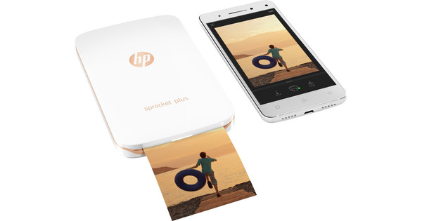 HP Sprocket Plus 2FR85A Wit