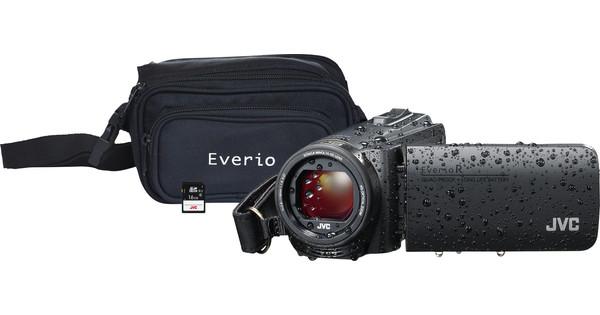 JVC GZ-R495BEU Black + memory card + bag