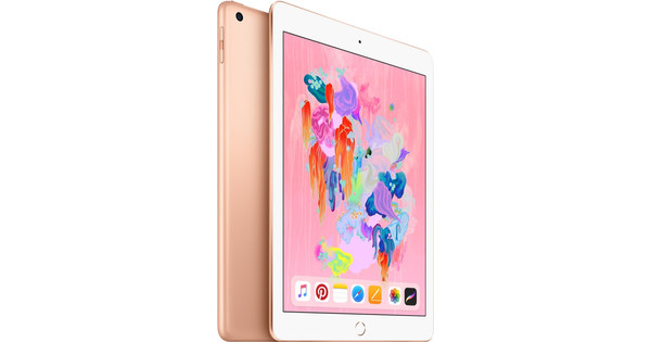 Apple iPad (2018) 128 GB Wifi Goud