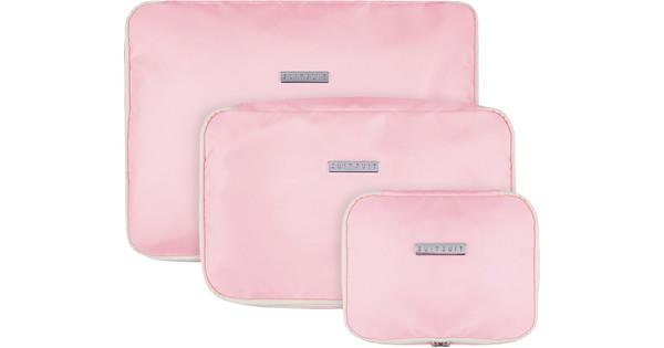 SUITSUIT Fabulous Fifties Packing Cube Set (S-M-L) Pink Dust