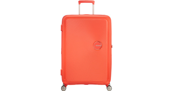 American Tourister Soundbox Expandable Spinner 77cm Spicy Peach