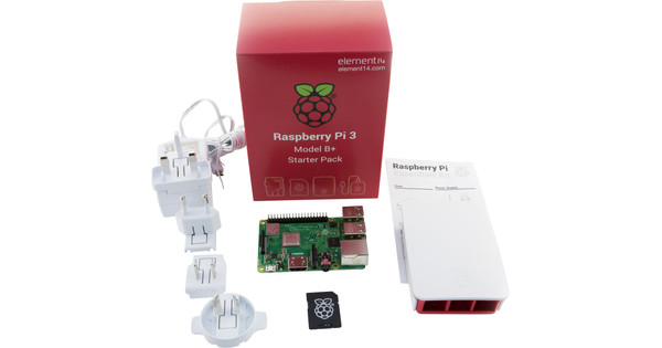 Raspberry Pi 3 Model B+ Starter Kit