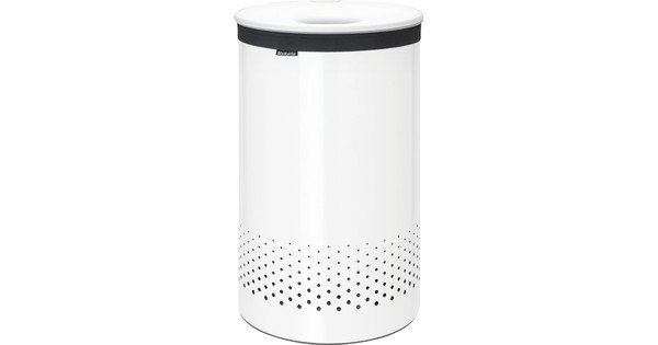 Brabantia laundry basket 60l white
