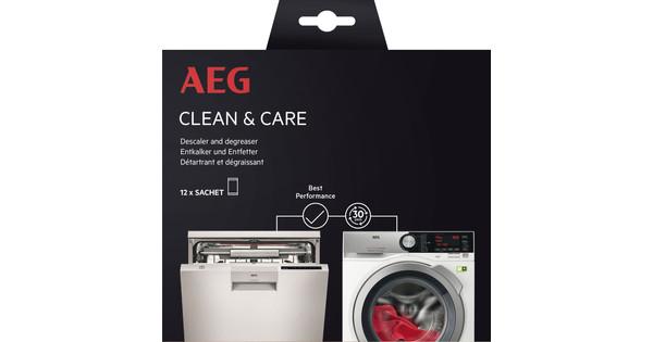 AEG dishwasher and washing machine cleaner