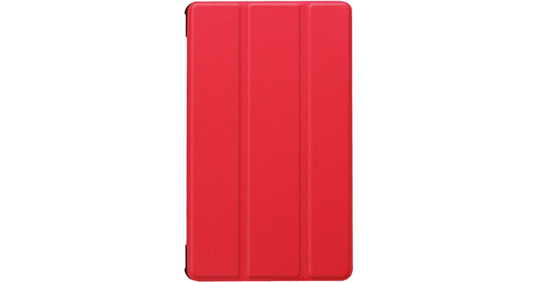 Just in Case Tri-Fold Huawei MediaPad M5 8 Book Case Rood