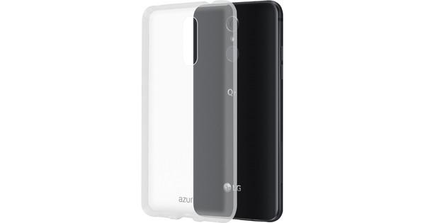 Azuri Glossy TPU LG Q7 Back Cover Transparant