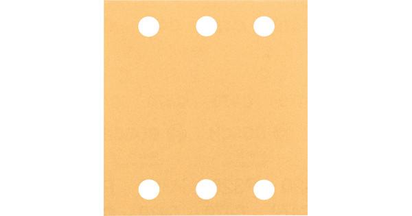Bosch Sanding Sheet 115x140mm K40, K60, K80, K120, K180 (10x)