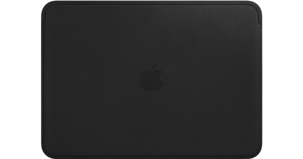 Apple MacBook 12-inch Leather Sleeve Black
