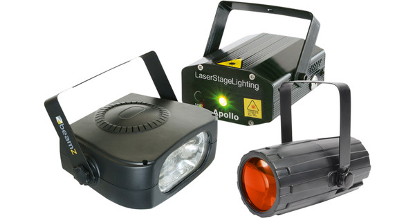 Beamz Light Package 4: Moon + LaserR / G + 150