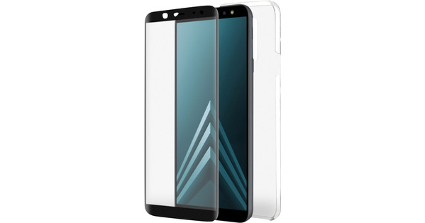 Azuri Protection Samsung Galaxy A6 (2018) Plus Full Body Transparent