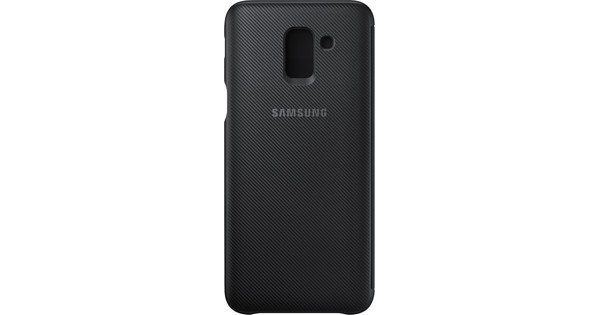 Samsung Galaxy J6 (2018) Wallet Cover Book Case Black