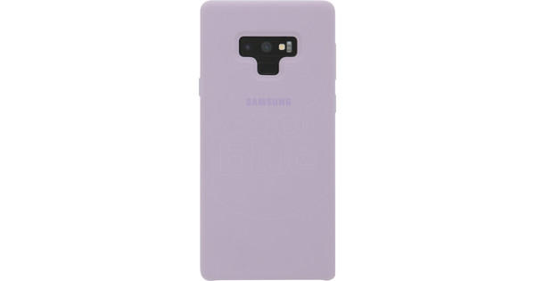Samsung Galaxy Note 9 Silicon Back Cover Paars