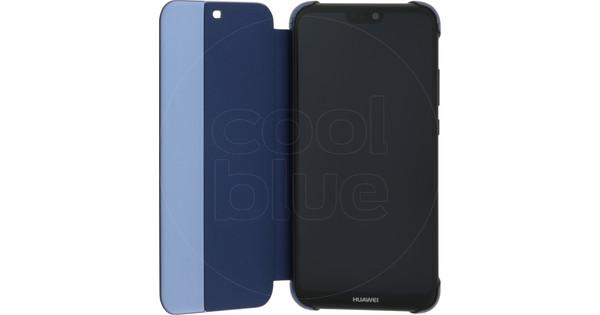 Huawei P20 Lite Flip Cover Book Case Blue