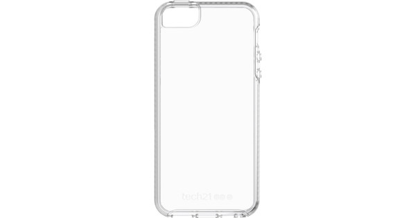 Tech21 Pure Clear Apple iPhone 5/5S/SE Back Cover Transparant
