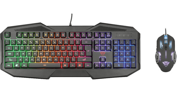 Trust GXT RAVONN Gaming Keyboard and Mouse QWERTY