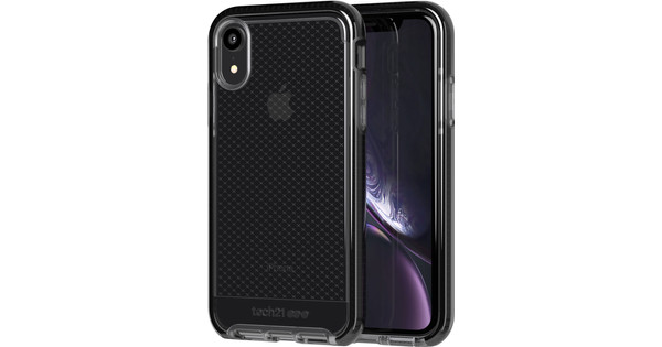 Tech21 Evo Check iPhone Xr Back Cover Black