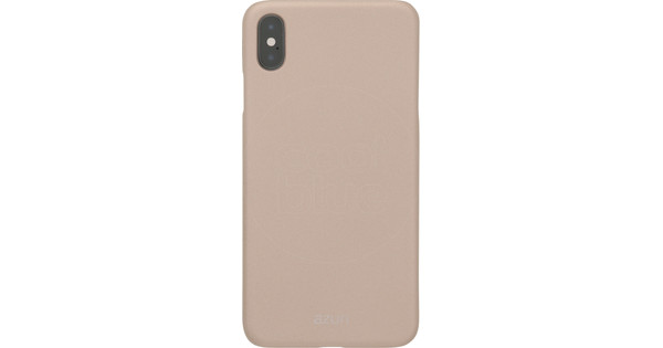 Azuri Metallic Soft Touch Apple iPhone Xs Max Back Cover Gold