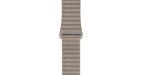 Apple Watch 42/44mm Leather Loop Watch Strap Stone - Medium