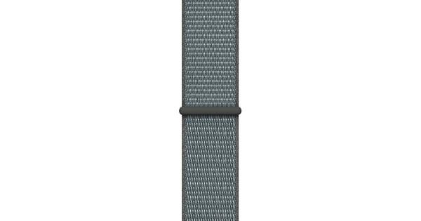 Apple Watch 44mm Nylon Sport Loop Watchband Stormgrey