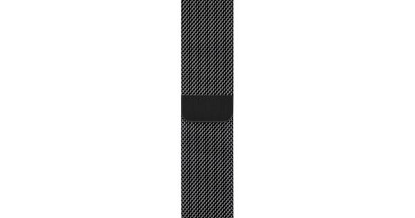 Apple Watch 38/40 mm Polsband Milanees Spacezwart