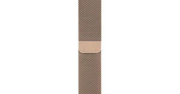 Apple Watch 42/44 mm Polsband Milanees Roségoud