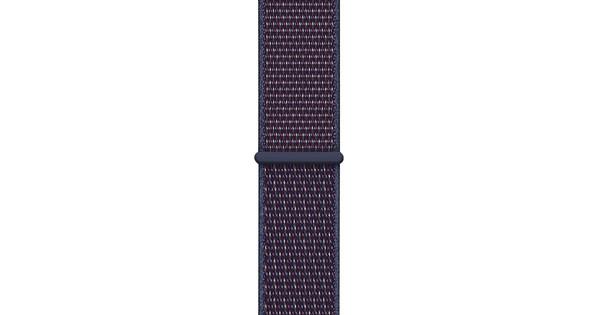 Apple Watch 44mm Nylon Sport Loop Horlogeband Indigo