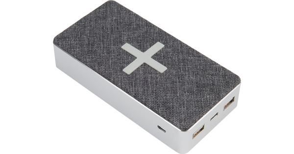 Xtorm Powerbank Wireless QI 16,000mAh Motion Gray