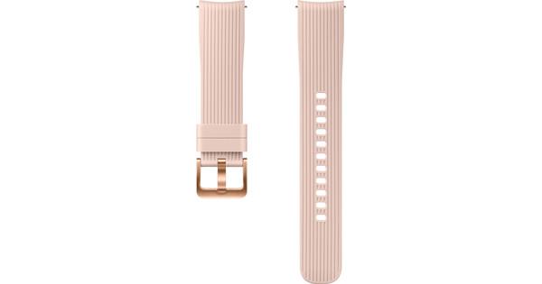 Samsung Galaxy Watch 42mm/Gear Sport Siliconen Horlogeband Roze