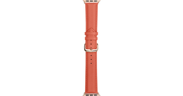 DBramante1928 Madrid Apple Watch 38mm Leren Horlogeband Roze