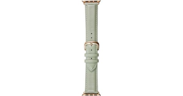 DBramante1928 Madrid Apple Watch 38mm Leren Horlogeband Groen
