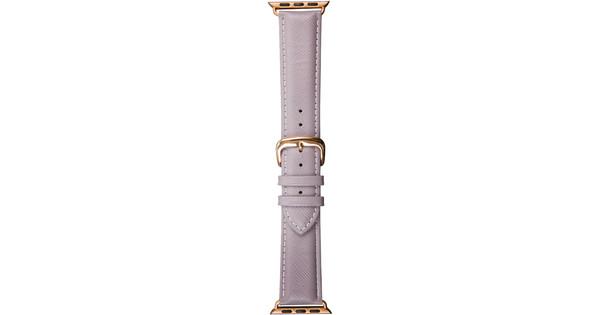 DBramante1928 Madrid Apple Watch 38mm Leren Horlogeband Grijs