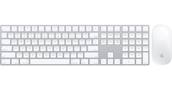 Apple Magic Keyboard Met Numeriek Toetsenblok QWERTY + Mouse